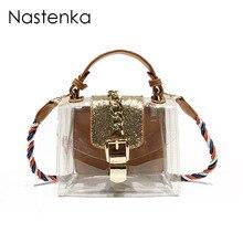 Nastenka Women Transparent Bag Small Messenger Bags With Chain Women  Shoulder Bag Female Handbags Purse Summer Crossbody Bag Sac 3b2f7c3814b62