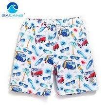 Gailang Brand Men Beach Shorts Board Boxer Trunks Short Casual Quick Drying font b Bermuda b