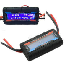Current Power Analyzer G.T.Power 150A RC High Precision Power Analyzer & Watt Meter W/ Backlight LCD цена