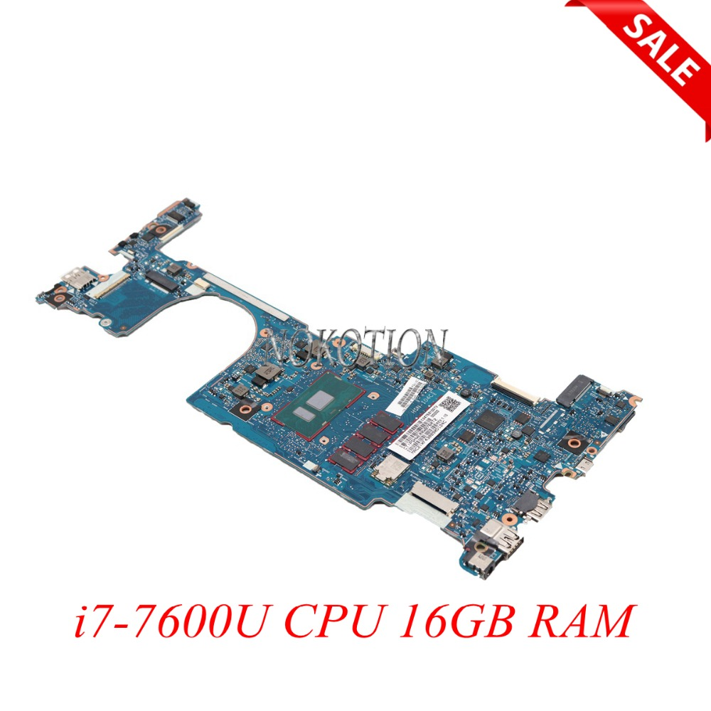NOKOTION 920054-601 For HP EliteBook X360 1030 G2 Laptop Motherboard 6050A2848001-MB-A01 13.3 inch i7-7600U CPU 16GB RAMNOKOTION 920054-601 For HP EliteBook X360 1030 G2 Laptop Motherboard 6050A2848001-MB-A01 13.3 inch i7-7600U CPU 16GB RAM