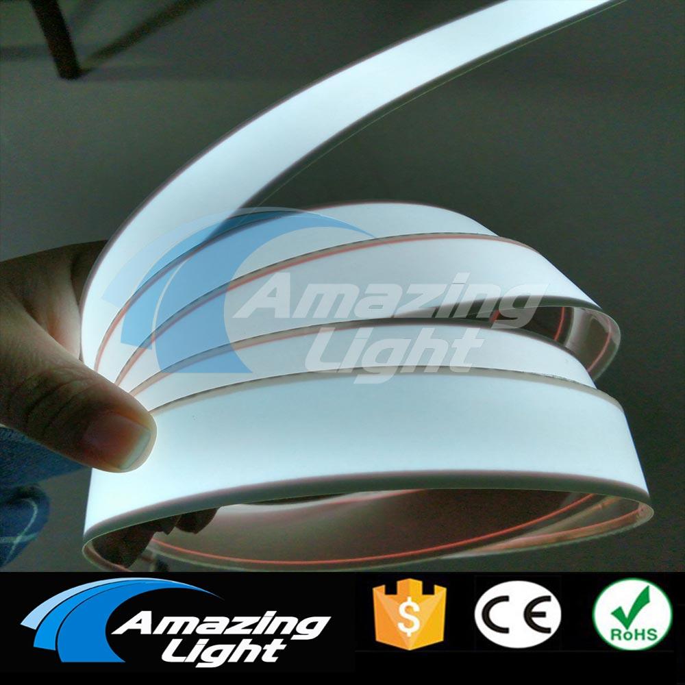 New Arrival 3cm x 100cm white Flexible EL strip Electroluminescent Tape led light neon tape With DC12V Inverter