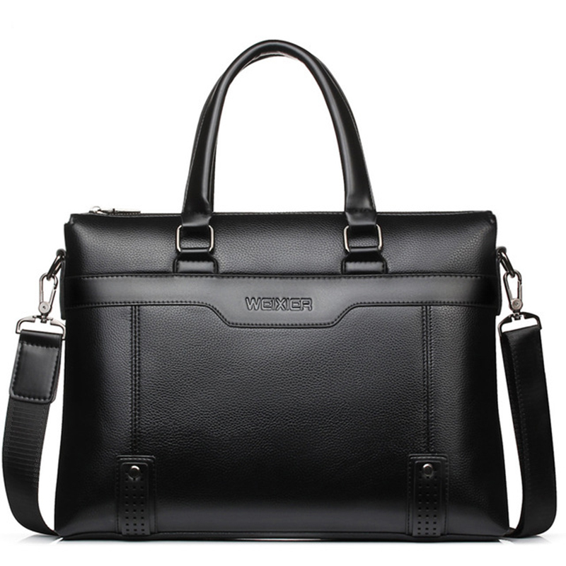 Casual Men Briefcase Business Shoulder Bag Men Messenger Bags Laptop Handbag Travel Pu Leather Man Bags Bolso Hombre WBS504