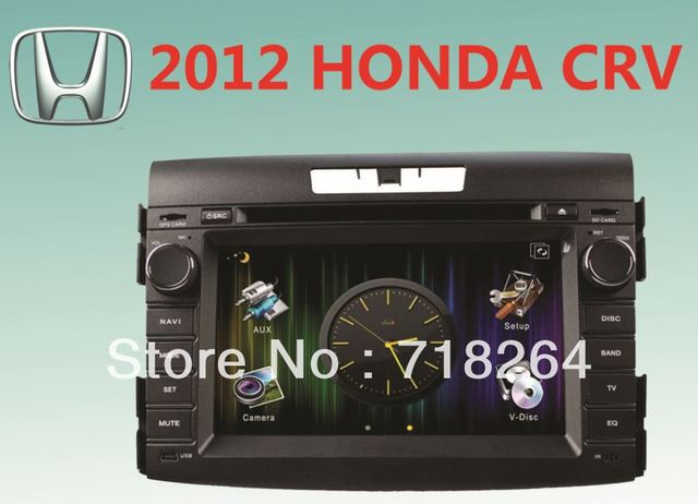 "free shipping! for HONDA CRV 7""HD digital screen CAR DVD/GPS system with UI+PIP+SWC+ATV+IPOD+BT+RDS+AUX IN+GPS+CANBUS"