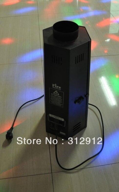 DMX512 контролируемая Красочные Пламени проектор, пожарная Машина, AC110V/220-250 В, 50/60 Гц; пламя машина