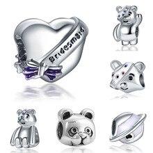 charms plata clips plata de ley 925 original bracelet jewelry making valentine's day mary poppins bijoux sieraden beads цена