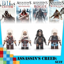 Single Sale  ASSASSIN Ezio Auditore Da Firenze Building Blocks Figure Bricks Toys kids gift Compatible Ninjaed цена