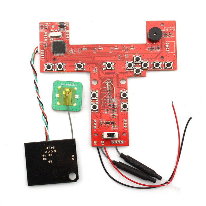 Original AOSENMA CG035 RC Quadcopter Spare Part GPS Receiver Board For RC Models Toys Multirotor Transmission Accs original aosenma cg035 receiver board gps for rc quadcopter models multirotor spare part transmitter goggles camera