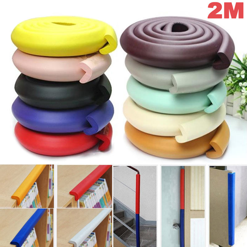 New Baby Safe Desk Table Protective Strip Security Cushion Anti-crash Protector S7JN ...
