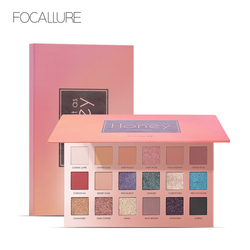 Focallure Eyeshadow shade palette'sweet as honey Glitter Shimmer matte Eye shadow professional Makeup Pallete of shadows