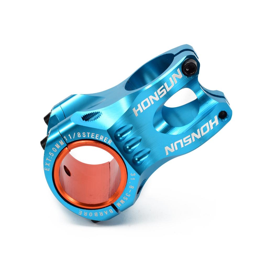 Bicycle Stem 28.6mm 31.8mm Al-alloy Ultra-light Short Handlebar Riser MTB Mountain Bike Handlebar Stem Riser Ahead Short стоимость