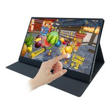 15,6 inch LCD Tragbare Monitor touchscreen IPS mit 1920X1080 2 Typ-C USB-C Mini HDMI für Raspberry Pi PS3/PS4/Xbox 360 Laptop