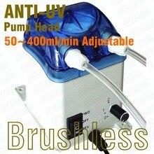 50 ~ 400 ml/min, 24 V Schlauchpumpe, Reversible Bürstenlosen Motor, austauschbare Pumpe Kopf & FDA genehmigt PharMed Peristaltische Schlauch