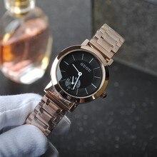 Женская мода Платье Часы Luxury женская Повседневная Часы Дамы Просто Модные Кварцевые часы Наручные Часы Relogio Feminino OP001