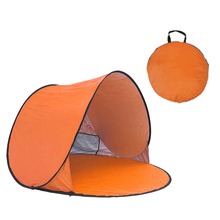 Beach Tent Ultralight Folding Tent Pop Up Automatic Open Tent Family Tourist Fish Camping Fishing Anti-UV Fully Sun Shade Tent