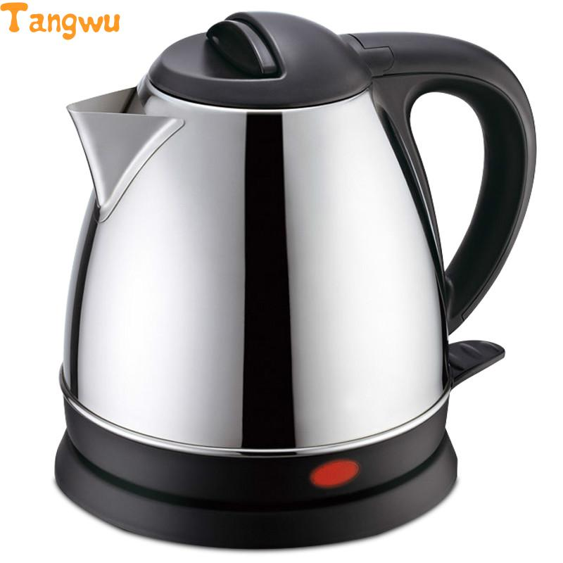 Free shipping Automatic power off of stainless steel electric kettle free shipping electric kettle automatic power off anti scald stainless steel