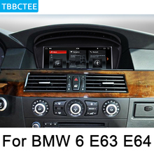 For BMW 6 E63 E64 2002~2008 CCC HD Screen Stereo Android Car radio GPS Navi Map multimedia player Navigation WiFi HD Screen yessun car android player multimedia for toyota fj cruiser radio stereo gps map nav navi navigation no cd dvd 10 hd screen