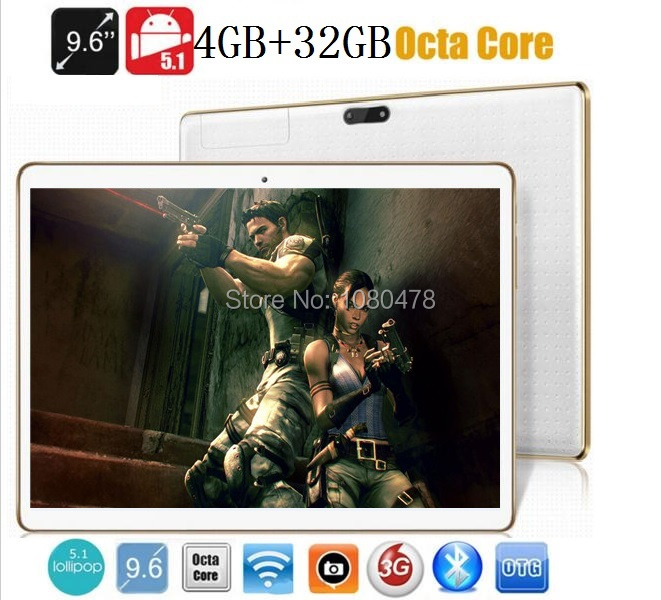 9 6 inch tablet pc Octa core 3G 4G LTE bluetooth wifi GPS 1280 800 5