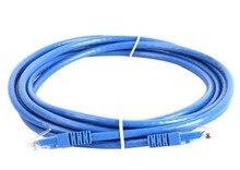 Супер пять неэкранированный 2 м медный одетый алюминиевый Перемычка синий RJ45 сетевой кабель готовый сетевой кабель BLYF
