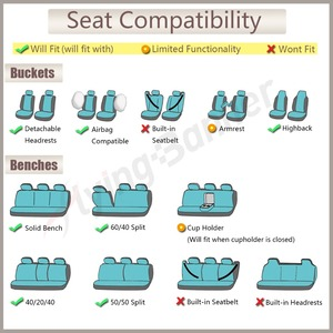 Image 5 - Speckled Velvet Fabric Car Seat Cover Universal Fit Most Vehicles Seats Interior Accessories Seat Covers