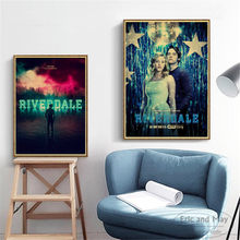 TV Play Riverdale Full Characters Posters And Prints Canvas Art Decorative Wall Pictures For Living Room Home Decor Painting(China)