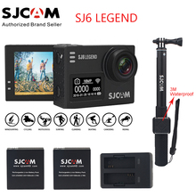 Original SJCAM SJ6 LEGEND 4K 2.0″ Touch Screen Sports Action Camera Mini DVR+2 Battery+Dual Charger+3M Waterproof Remote Monopod