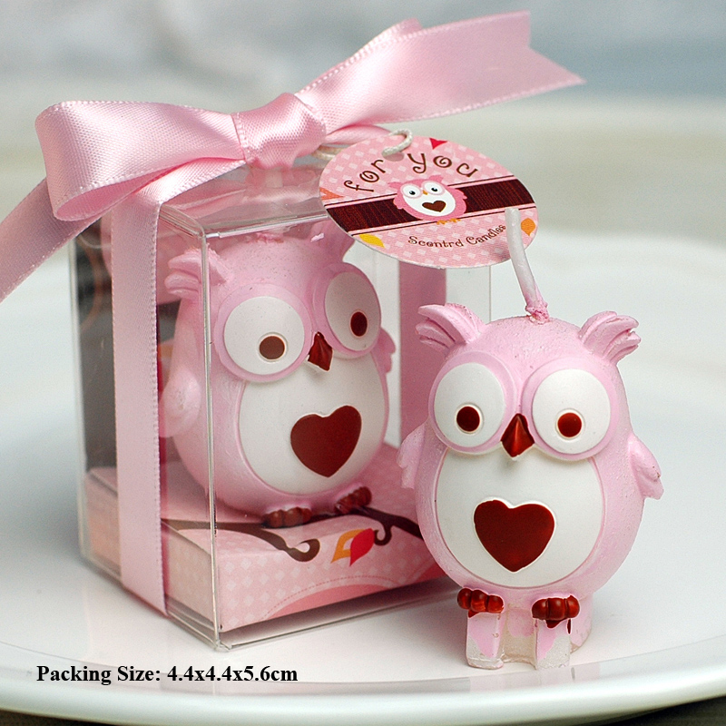 baby toy owl candles for cakes animal birthday decoration owl cake candle children kids party supplies souvenir birthday candle in Cake Decorating Supplies from Home Garden