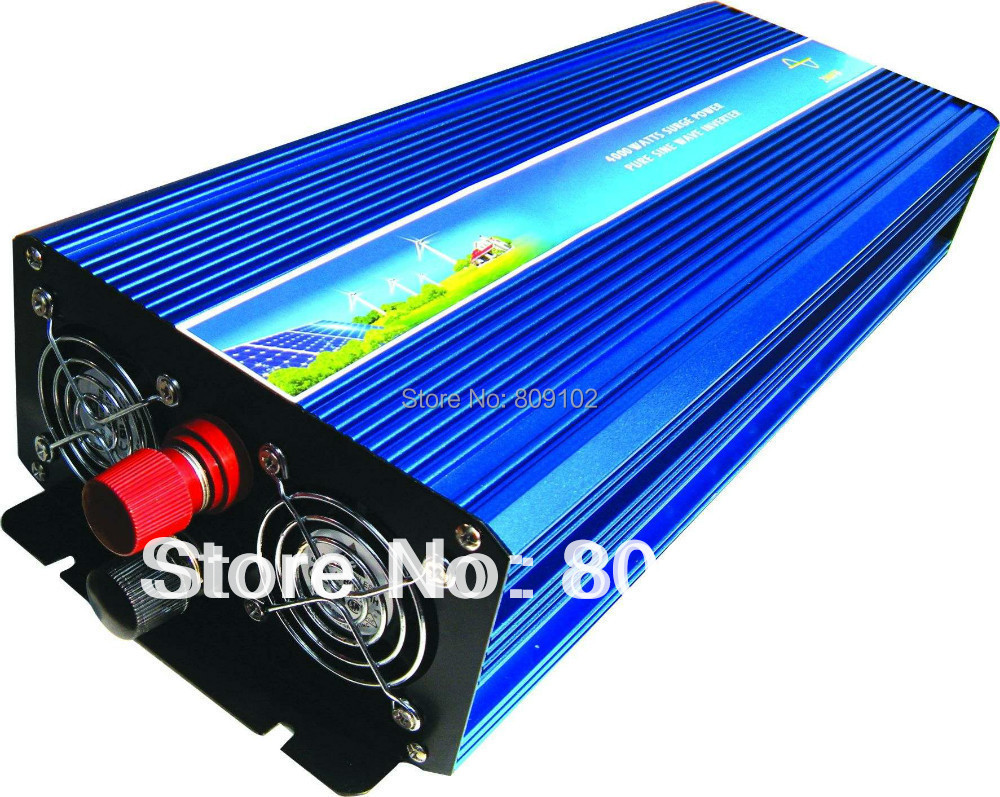 Off Grid 2000w Dc12v 24v Ac110v 220v Pure Sine Wave