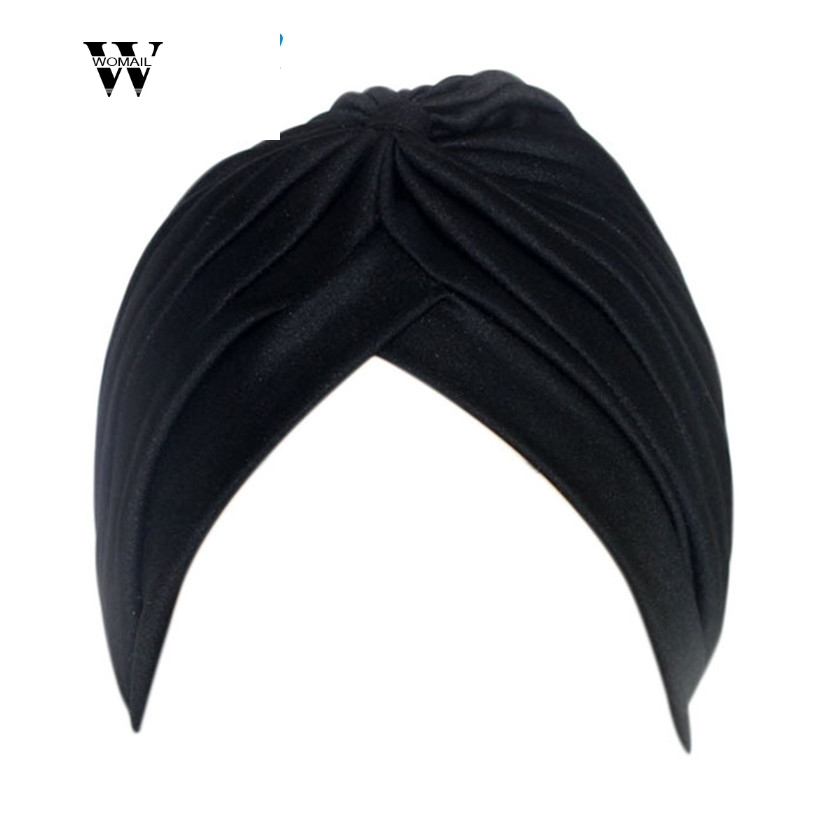 Women's Skullies Beanies Warm Winter Slouchy Baggy Turban Ear Cap Satin Beanie Hats Wooly Spring Autumn Hat Drop Shipping S29
