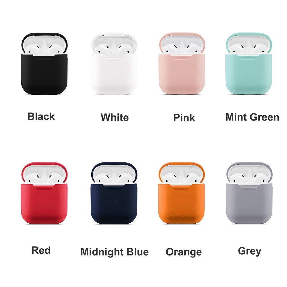 Image 2 - Bluetooth Wireless Case for Airpods dust guard headhone case airpods Accessories off white transparent case for airpods pouch-in Earphone Accessories from Consumer Electronics