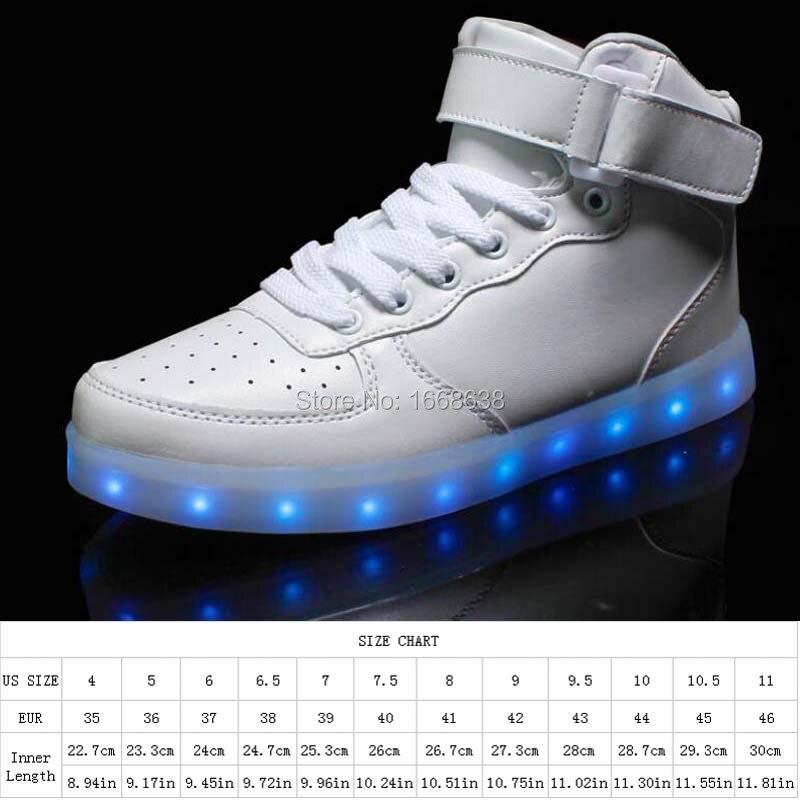 Burosu Sapatos iluminar Colores 6