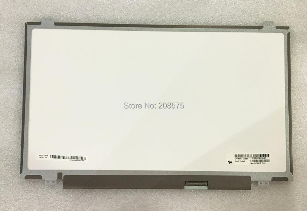 Free shipping LP140WHU-TLB1 M140NWR1 R0 N140BGE-L33 N140BGE-L43 N140BGE-LA3 14.0 inch Laptop LCD Screen 1366*768 LVDS 40 pins gunsafe bs924 l43