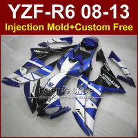New Motorcycle Injection mold FAAC blue fairing kit for YAMAHA YZF R6 2008 2009 2011 2013 ABS body parts YZF R6 08 13 YZF1000 R6