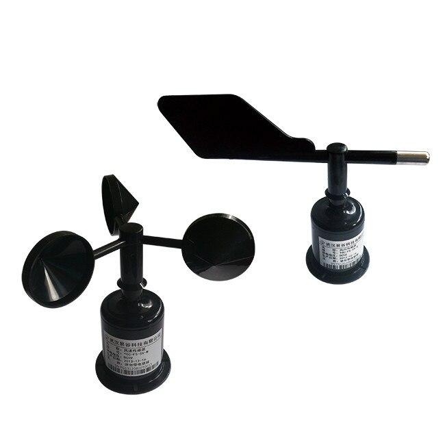 Три чашки направление ветра и датчик скорости ветра/anemorumbometer (RS485/232,4 20mA/0 5 в) скорость ветра преобразователя + ветер датчиков