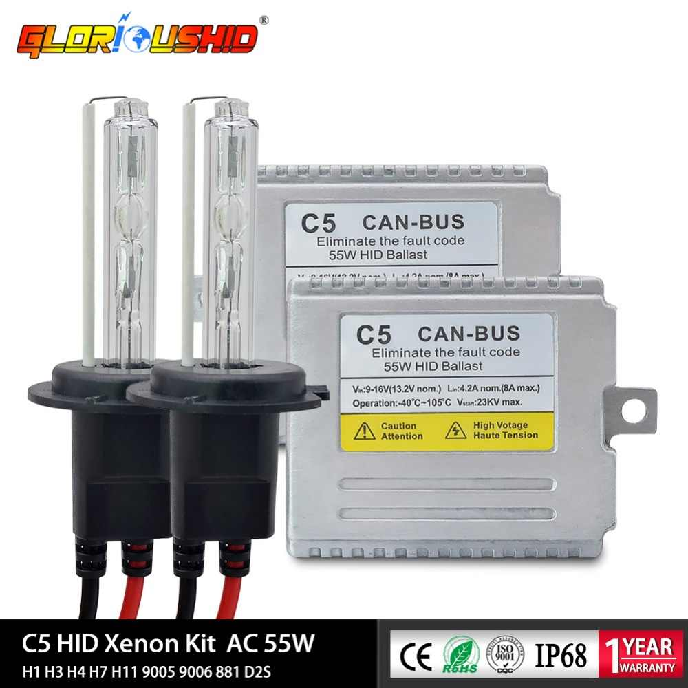 H4 6000K XENON CANBUS HID KIT TO FIT Ford Transit MODELS
