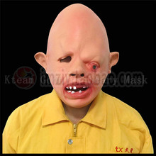 Hot !!!Novelty Latex Rubber Creepy Scary Ugly Face the Goonies Sloth Mask Halloween Party Costume Decorations Latex Cyclops Mask