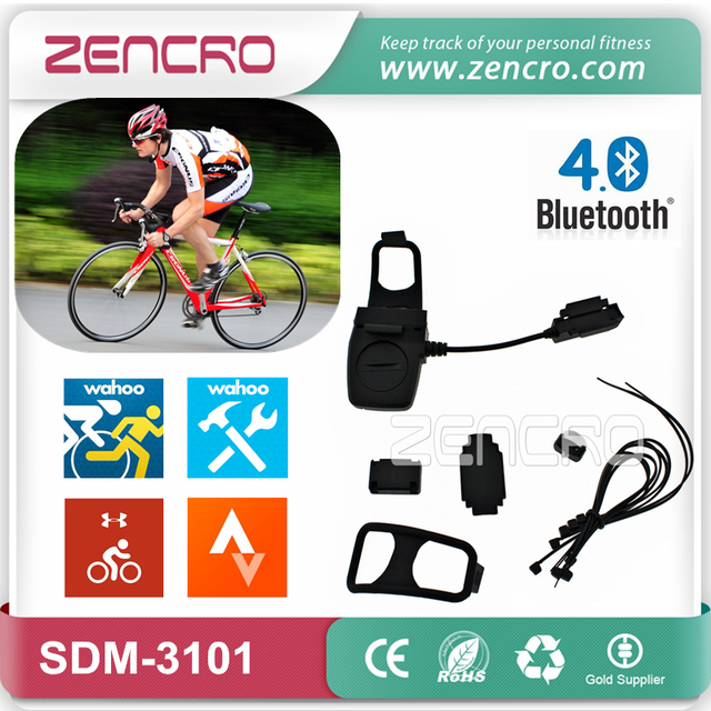 Wahoo MapMyRide Strava Bike Speed Meter Cadence Sensor for Smartphone