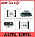 O mais novo! 2015.3 TCS cdp pro plus novo vci obd2 Diagnostic software branco parceiro Pro scan tool LED para carros caminhões 3in1 NAVIO LIVRE