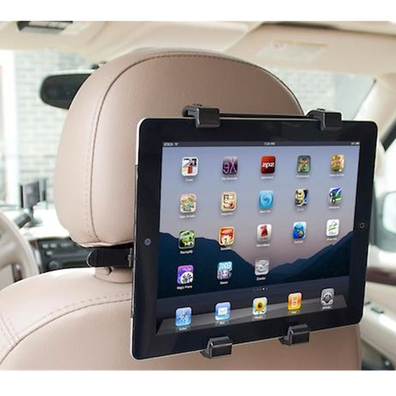 Holder For Car Tablet Stand Back Seat Headrest Mount Holder For iPad Xiaomi Samsung Universal Tablet PC GPS On Car Accessories