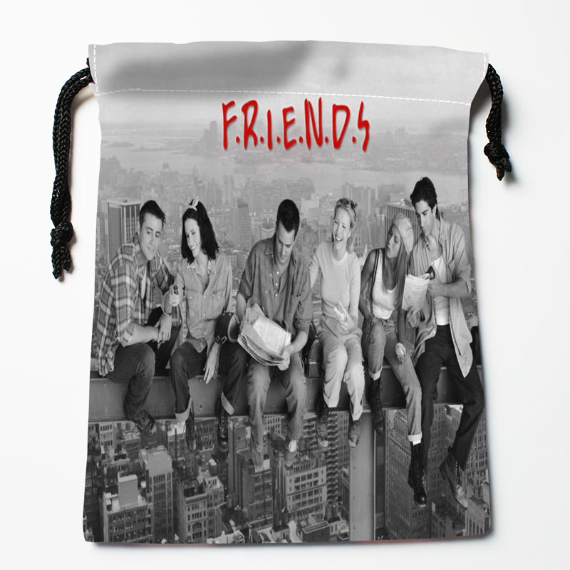 New Arrival In the wall skyscraper Drawstring Bags Custom Storage Printed Receive Bag Type Bags Storage Bags Size 18X22cm