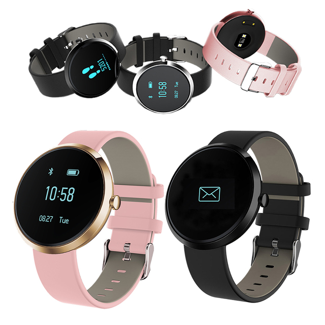 Bluetooth smart watch v06 band pulsera inteligente de ritmo cardíaco de la presión arterial pulso pulsera llamada sms recuerdan para ios android hombres