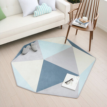 New Korean Style Lovely Carpet Baby Crawling Floor Mat Five Star Bedroom Living room Rug