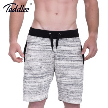 Taddlee Brand Men's Shorts Cotton Casual Fitness Sweatpants Fashion Short Bottoms Calf-Length Jogger Gasp Boxer Trunks Workout