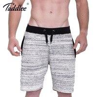 Taddlee Brand Men S Shorts Cotton Casual Fitness Sweatpants Fashion Short Bottoms Calf Length Jogger Gasp