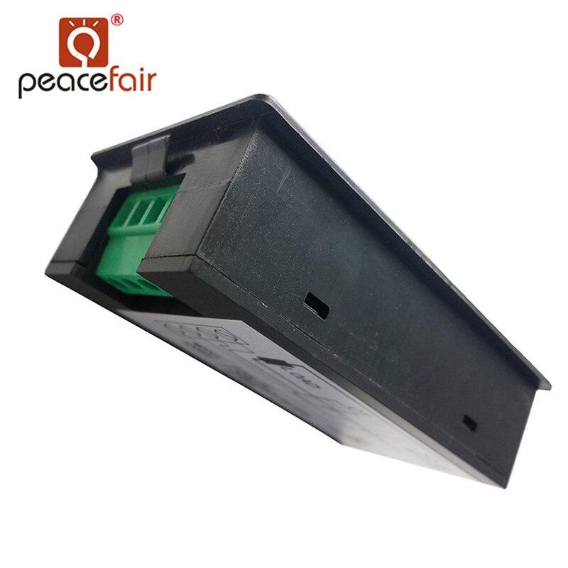 """""""Peacefair"""" vienos fazės skaitmeninis skystųjų kristalų - Matavimo prietaisai - Nuotrauka 4"""
