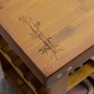 Image 4 - Magic union porta sapato banco de madeira maciça de duas camadas sapato armário minimalista moderno assento sofá fezes sapato rack de armazenamento fezes
