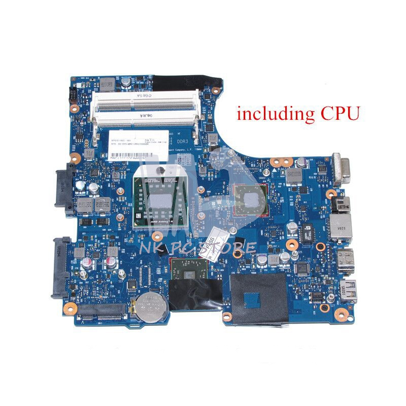 NOKOTION 611803-001 Motherboard For Hp 625 325 CQ325 Laptop Main board RS880M DDR3 with Free CPU 685518 001 684319 001 main board for hp elitebook 8560w laptop motherboard qm67 ddr3 with graphics slot