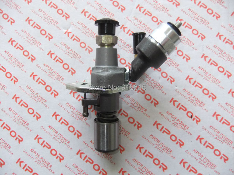 KIPOR KAMA KM186F Fuel Injection Pump Assembly with Solenoid Valve diesel engine and diesel genset parts common rail injector fuel diesel engine 0445120134 diesel injection nozzle assembly 0 445 120 134 and auto engine