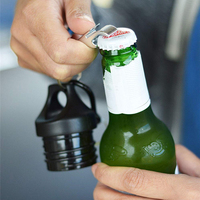 BIUBIUTUA 304 Stainless Steel Beer Insulator Cup Cold Keeper Holder with Metal Bottle Opener Cold Beer Holder Bottle 4