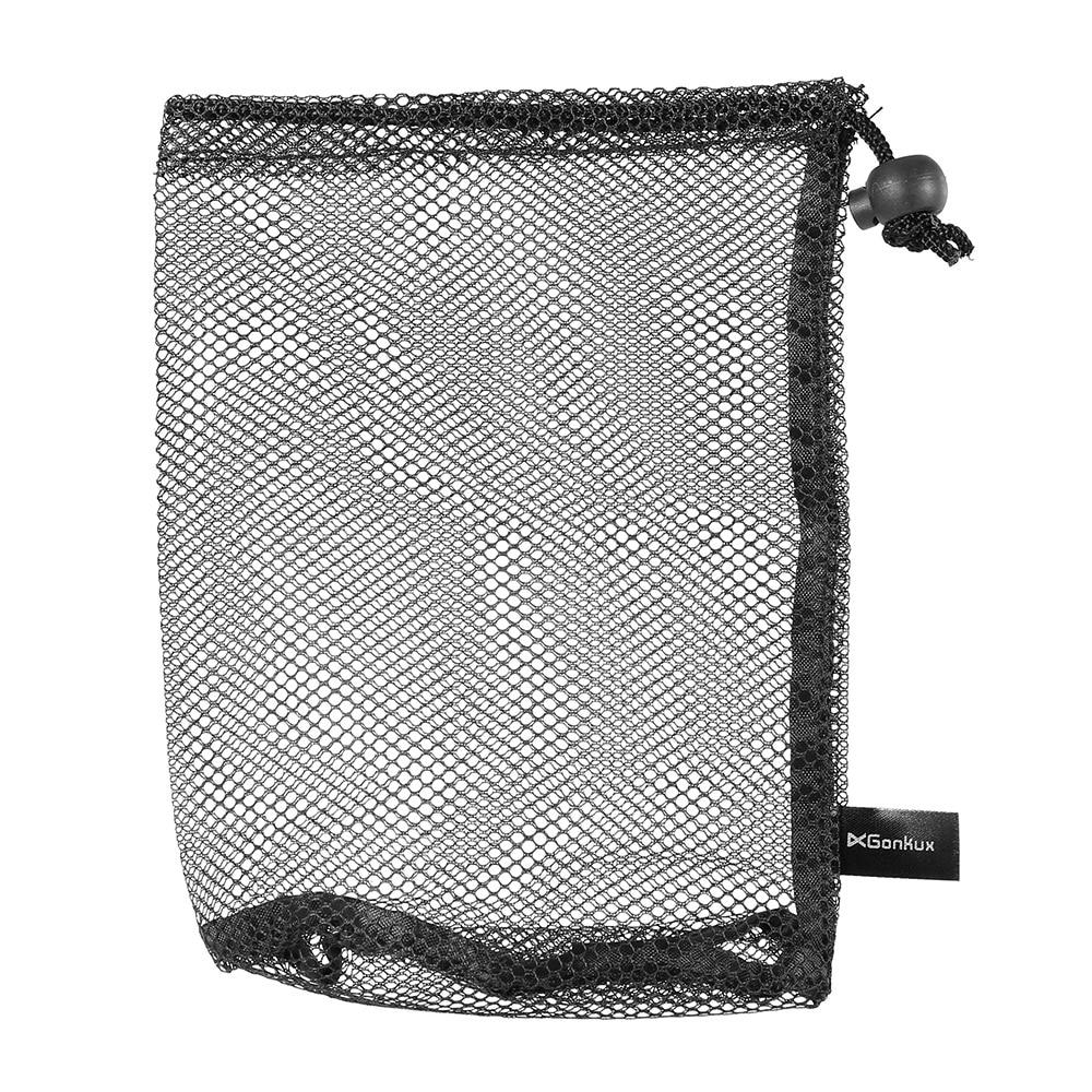 Image 3 - Golf Nylon Drawstring Mesh Net Bag Golf Balls Holder Outdoor Sports Mesh Nets Bag Table Tennis Balls Carrying Holder Storage Bag-in Golf Balls from Sports & Entertainment