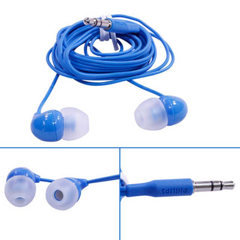 Philips SHE3590 auricular interno profesional con selección multicolor de bajos estéreo auriculares con cable para huawei xiaomi